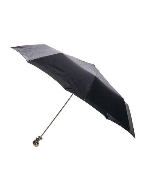 Alexander McQueen Skull Umbrella black