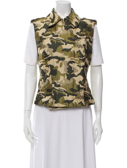 Alexander McQueen Printed Vest Green