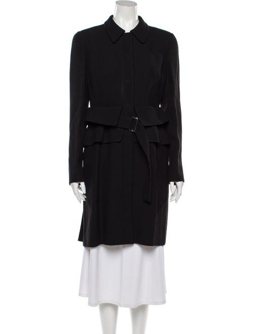 Alexander McQueen Trench Coat Black