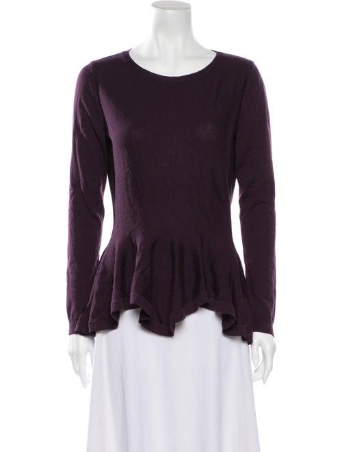 Alexander McQueen Wool Lightweight Sweater Purple