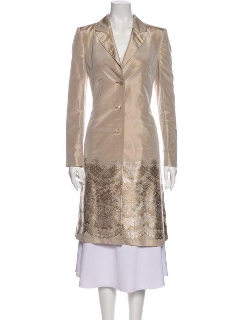 Alexander McQueen 2004 Silk Coat