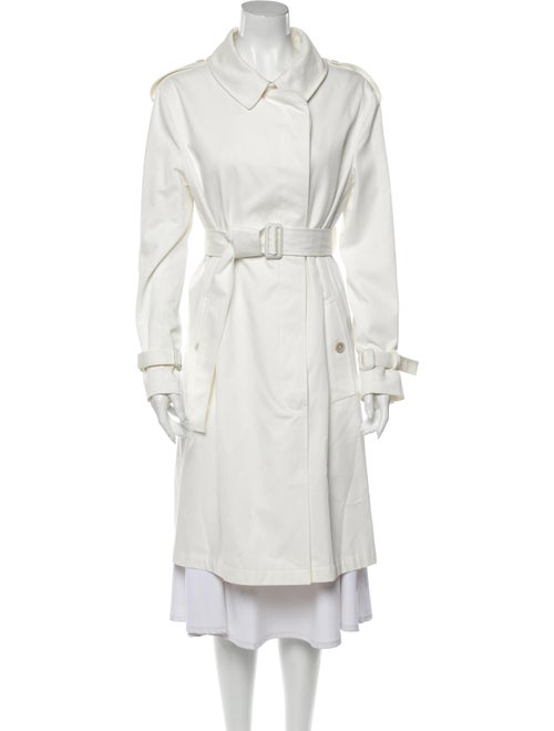 Alexander McQueen Trench Coat White