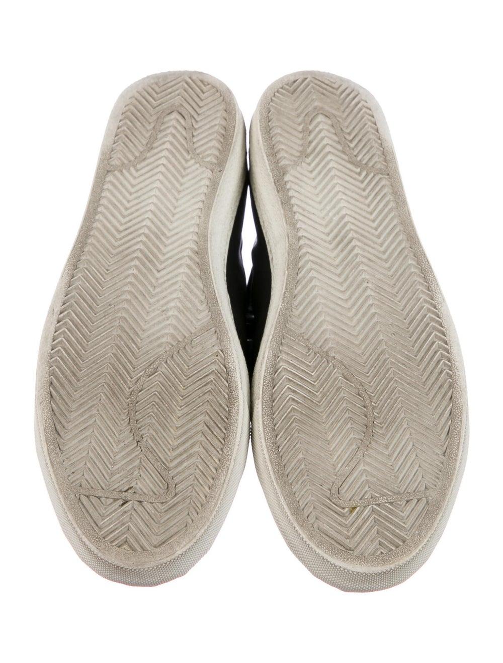 Alexander McQueen Leather Sneakers Blue - image 5