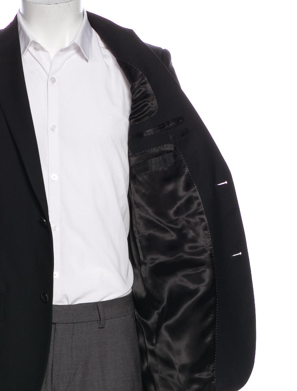 Alexander McQueen Wool Blazer Wool - image 4