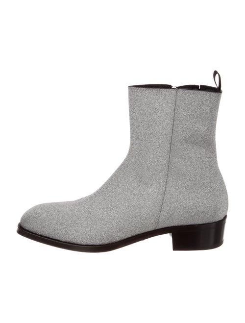 Alexander McQueen Boots Silver - image 1