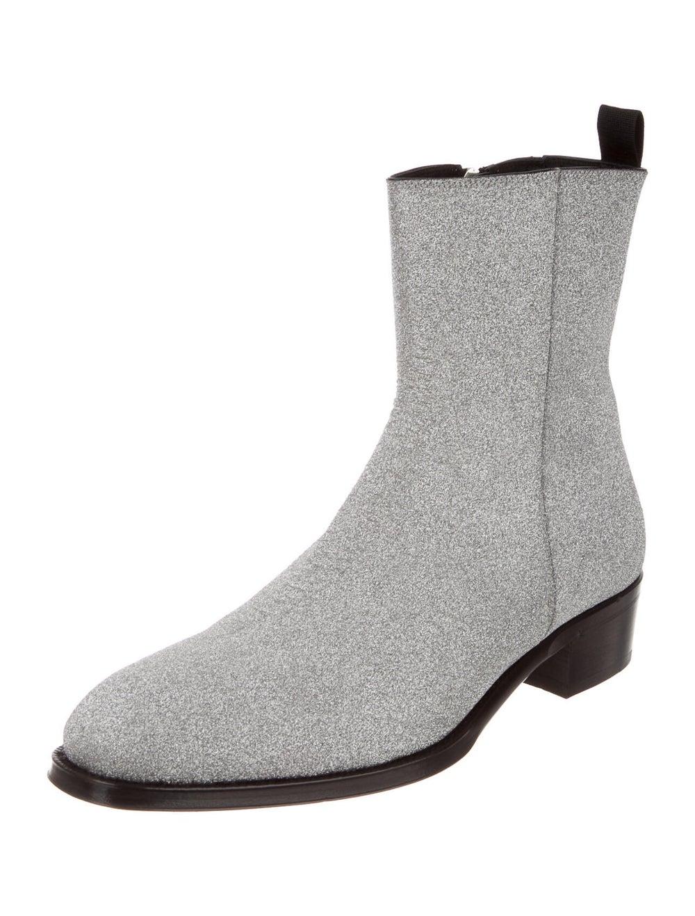 Alexander McQueen Boots Silver - image 2