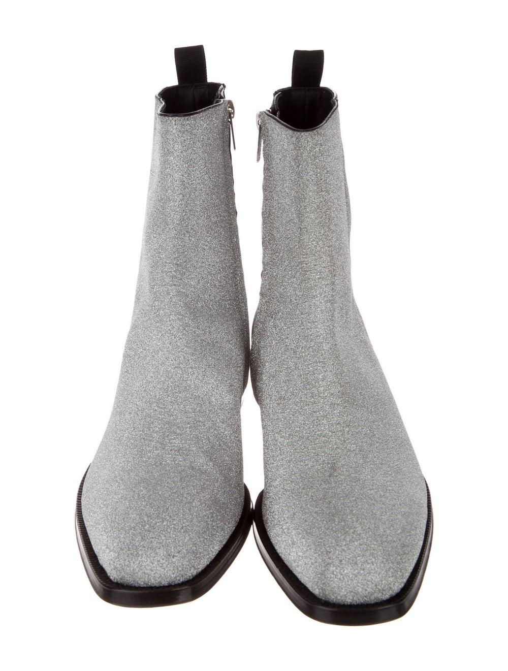 Alexander McQueen Boots Silver - image 3