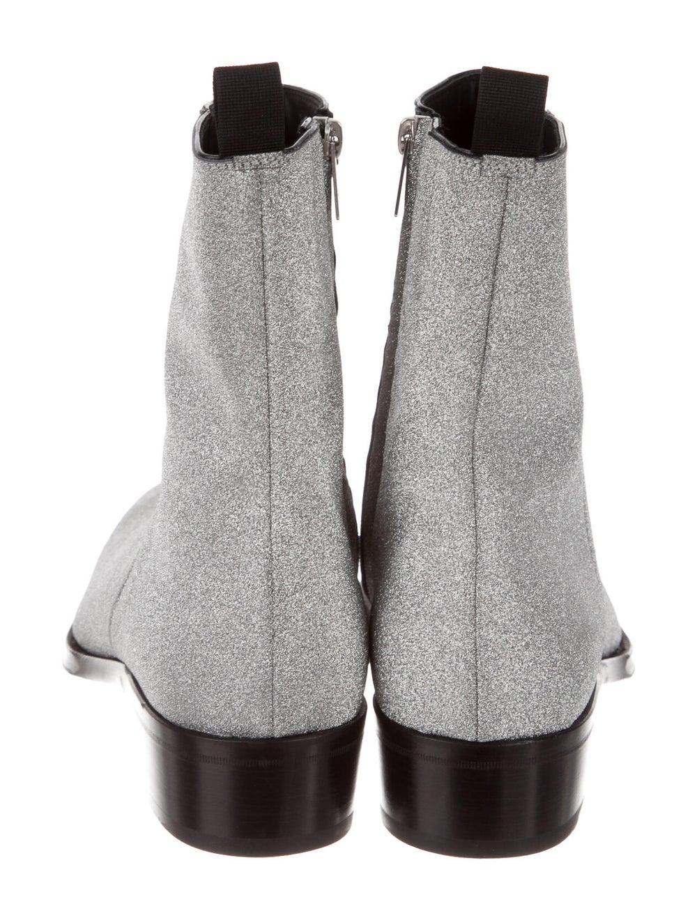 Alexander McQueen Boots Silver - image 4