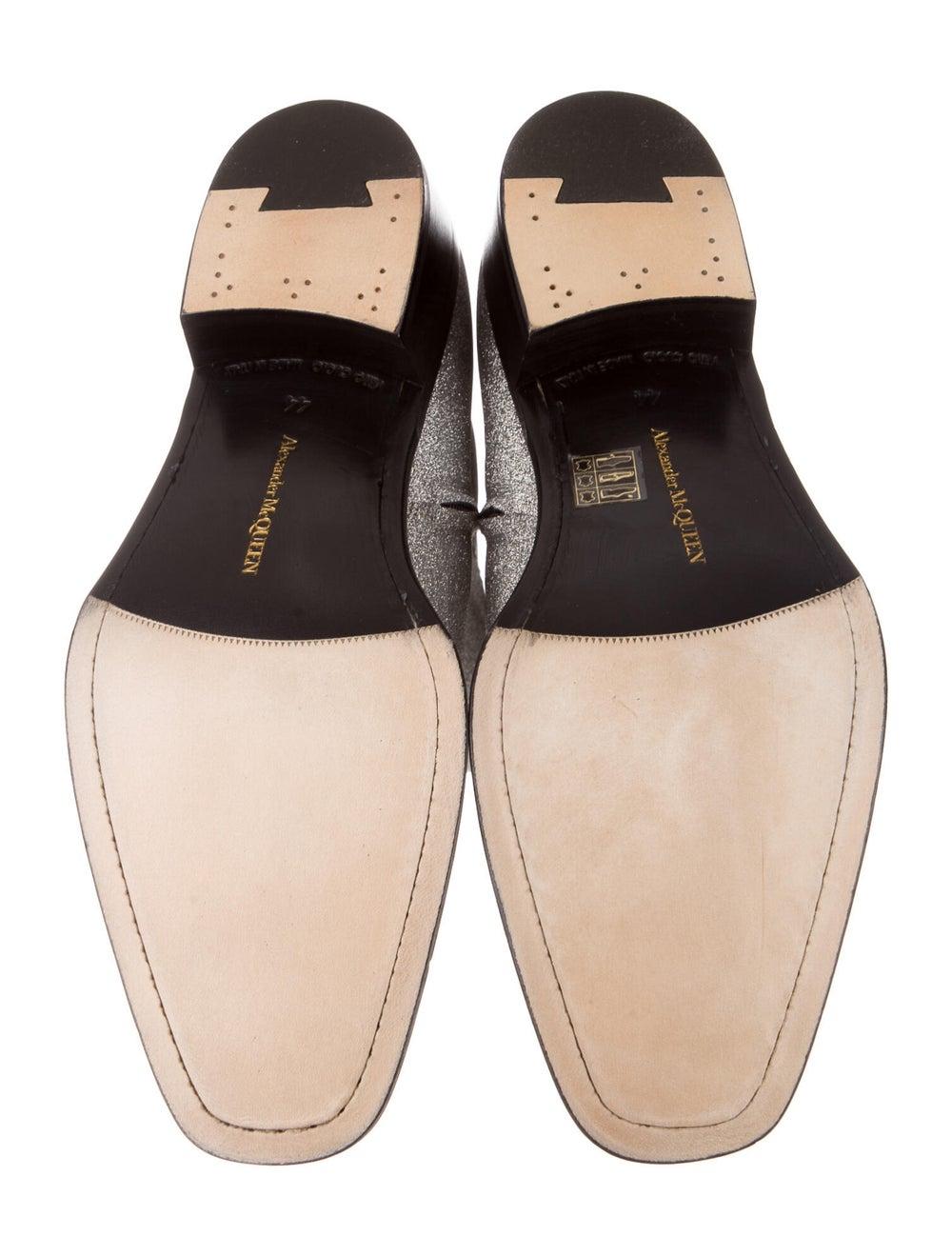 Alexander McQueen Boots Silver - image 5