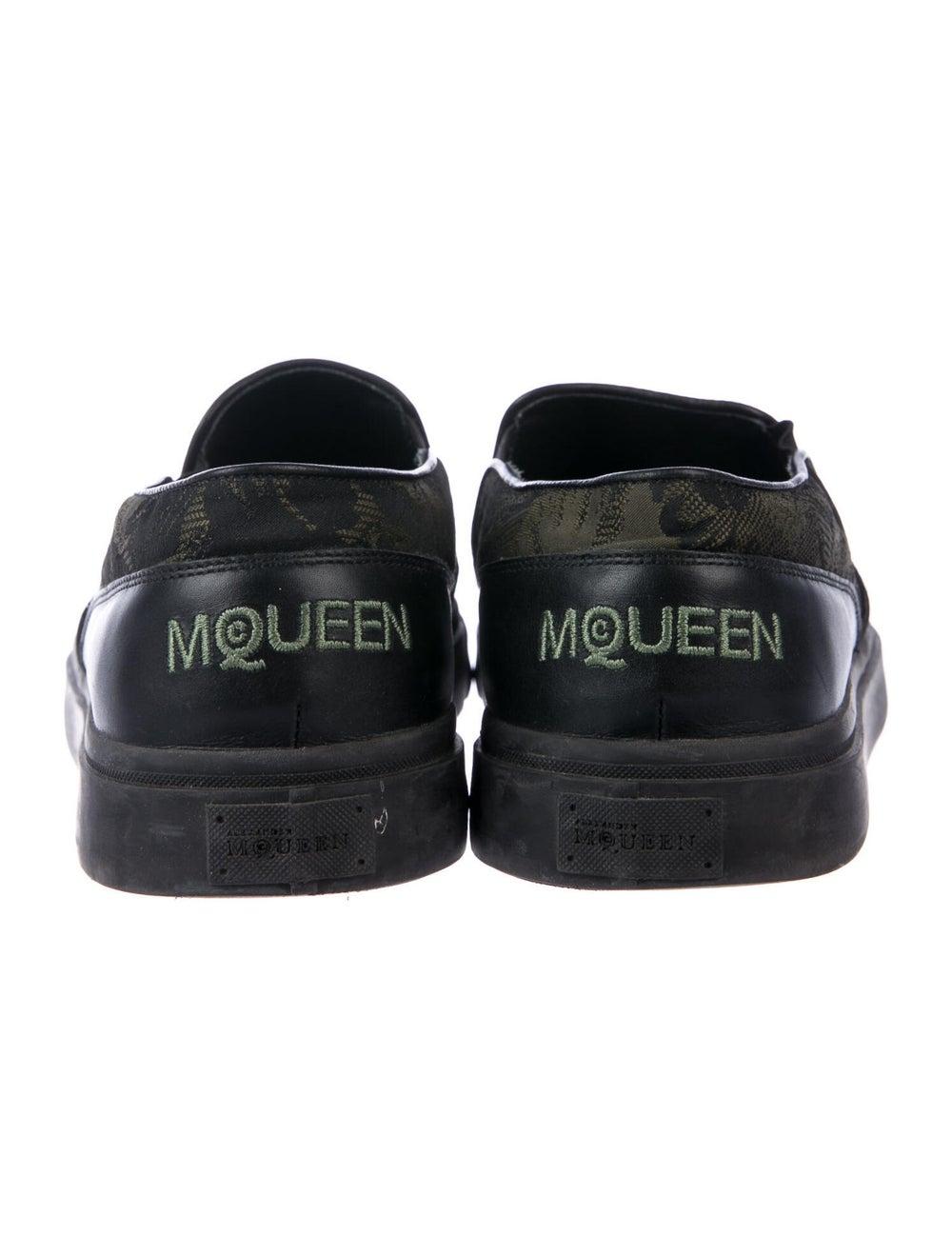 Alexander McQueen Printed Sneakers Black - image 4