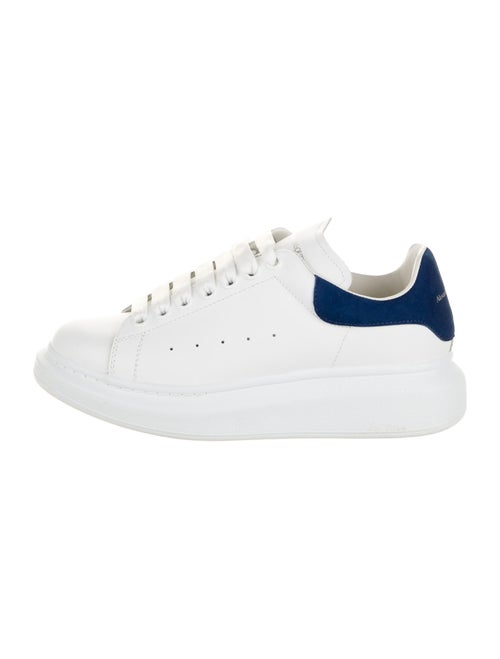 Alexander McQueen Leather Chunky Sneakers White