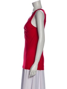 Alexander McQueen V-Neck Sleeveless Top w/ Tags