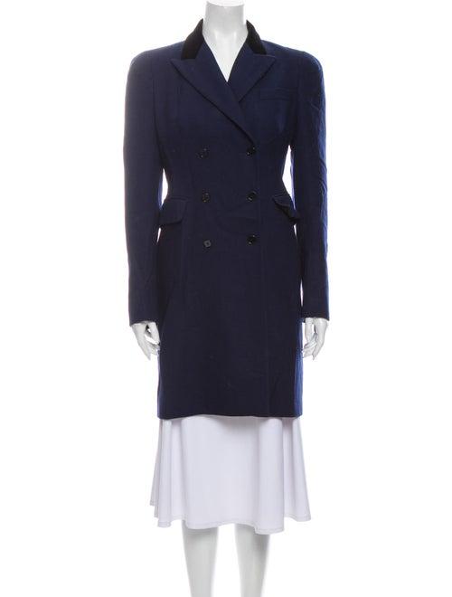 Alexander McQueen Virgin Wool Coat Wool