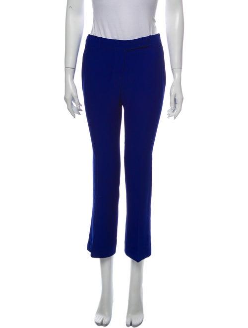 Alexander McQueen Wide Leg Pants Blue