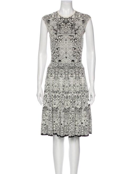 Alexander McQueen Printed Knee-Length Dress