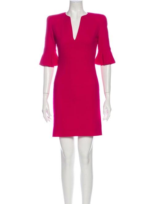 Alexander McQueen 2012 Mini Dress Wool