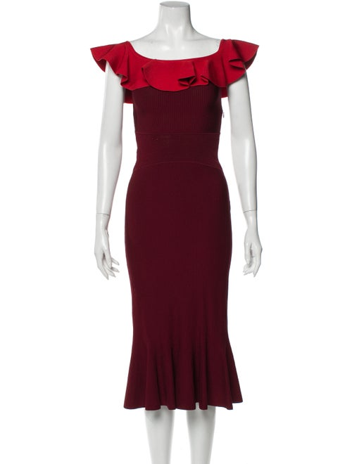 Alexander McQueen 2018 Midi Length Dress