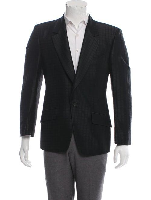 Alexander McQueen Vintage Jacquard Wool-Blend Blaz