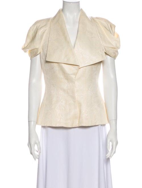 Alexander McQueen Silk Evening Jacket