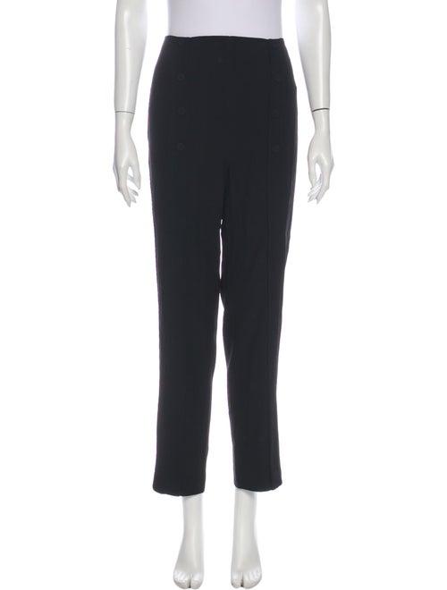 Alexander McQueen Straight Leg Pants Black