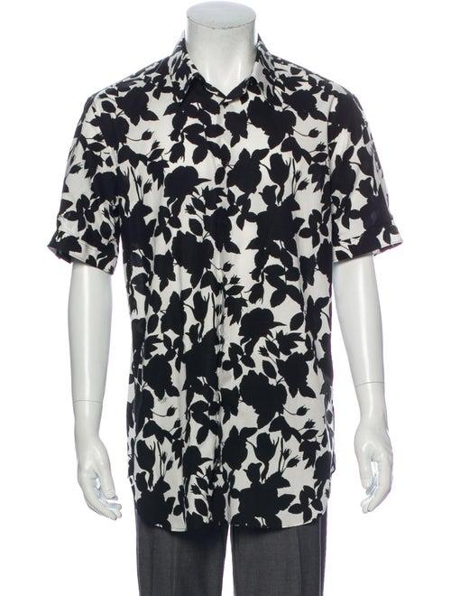 Alexander McQueen 2016 Graphic Print Shirt White