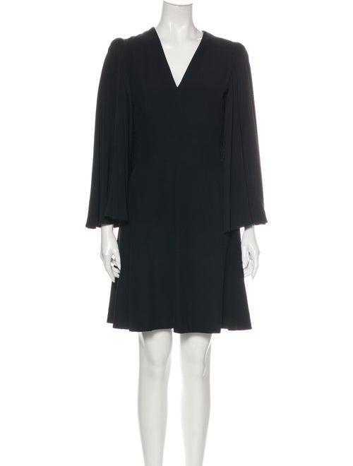 Alexander McQueen 2016 Mini Dress Black