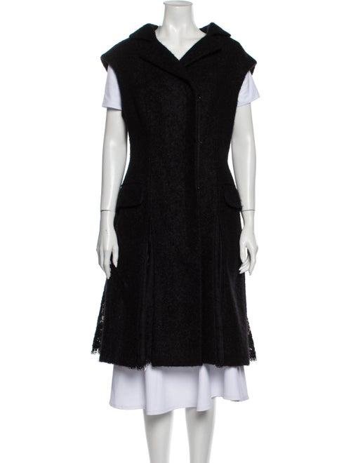 Alexander McQueen Coat w/ Tags Black