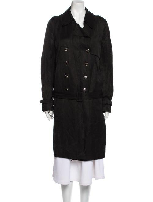 Alexander McQueen Vintage 2007 Trench Coat Black