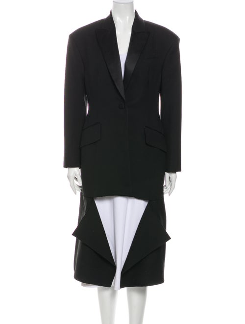 Alexander McQueen Wool Coat Wool