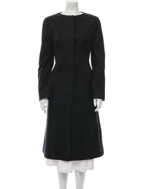 Alexander McQueen 2004 Coat Black