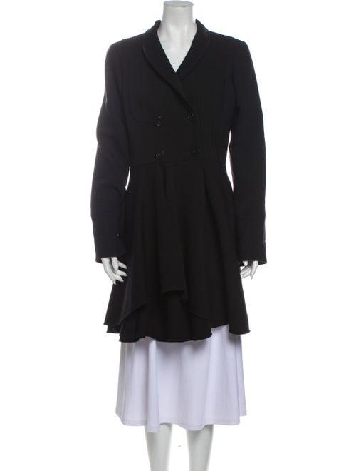 Alexander McQueen 2015 Virgin Wool Coat Wool