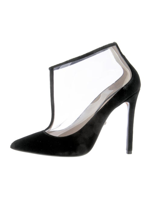 Alevi PVC Ankle Boots Clear