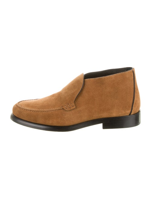 Alumnae Suede Ankle Boots