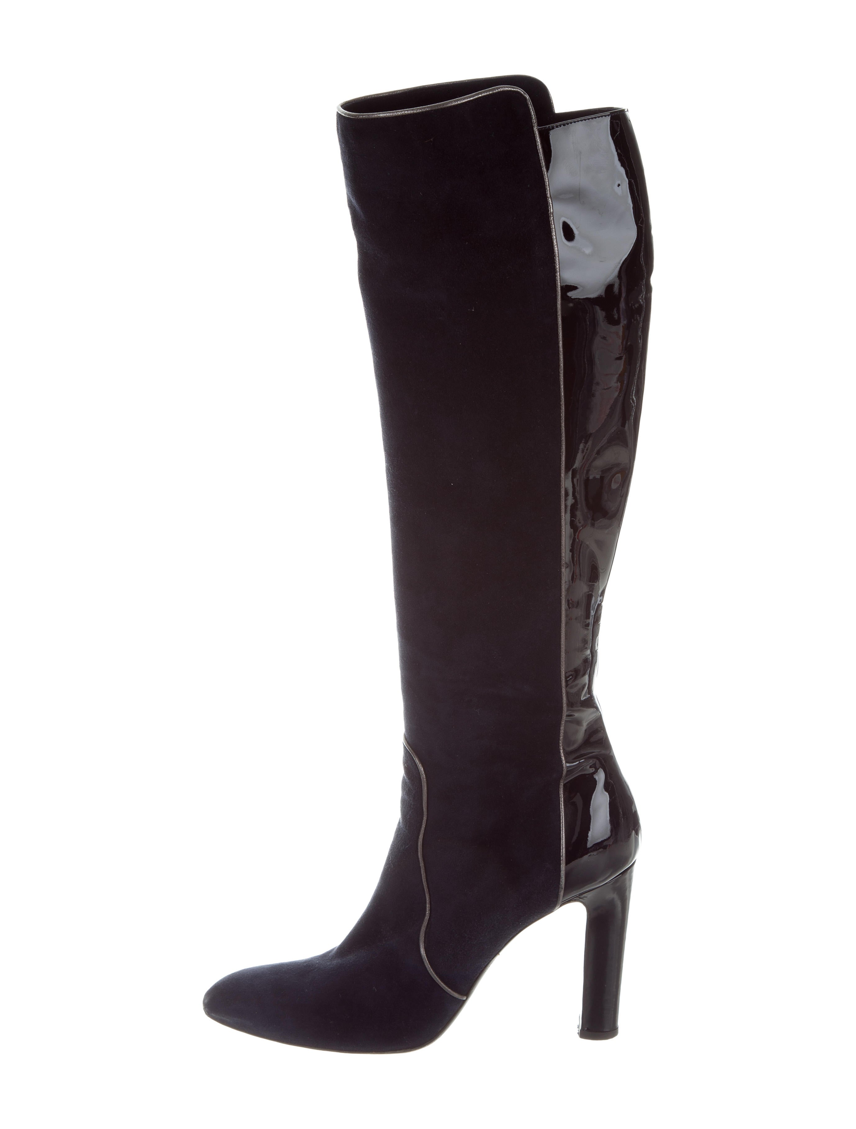 new styles cheap sale great deals Alexandra Neel Suede Knee-High Boots geniue stockist online high quality sale online sale visa payment 7hNTh