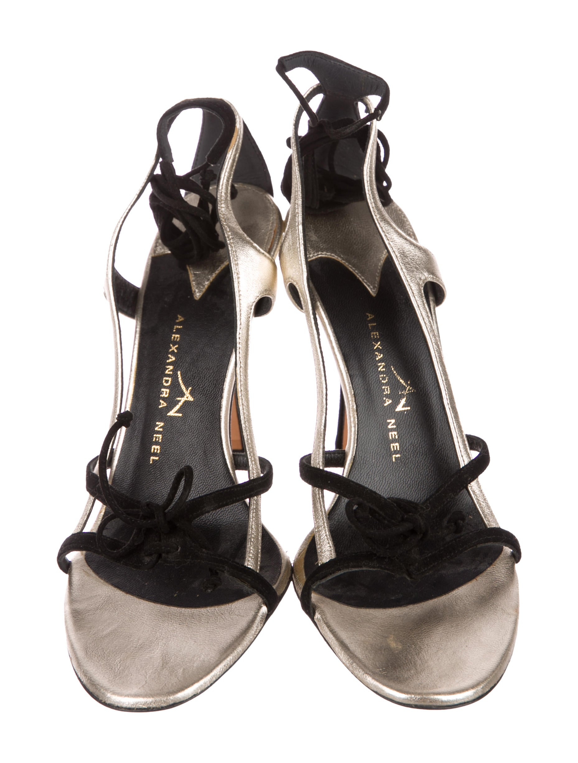 Alexandra Neel Suede Lace-Up Sandals genuine cheap price amazon sale online discount codes clearance store YFpzEsha8