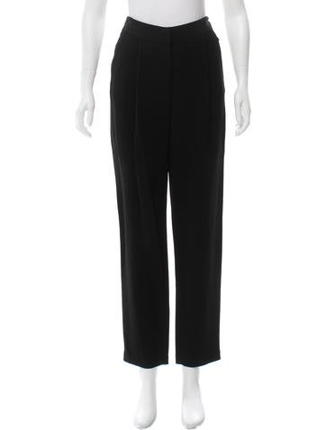 Adam Lippes High-Waist Tapered Pants w/ Tags None