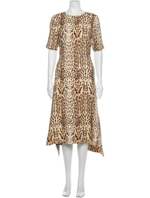 Adam Lippes Wool Long Dress Wool