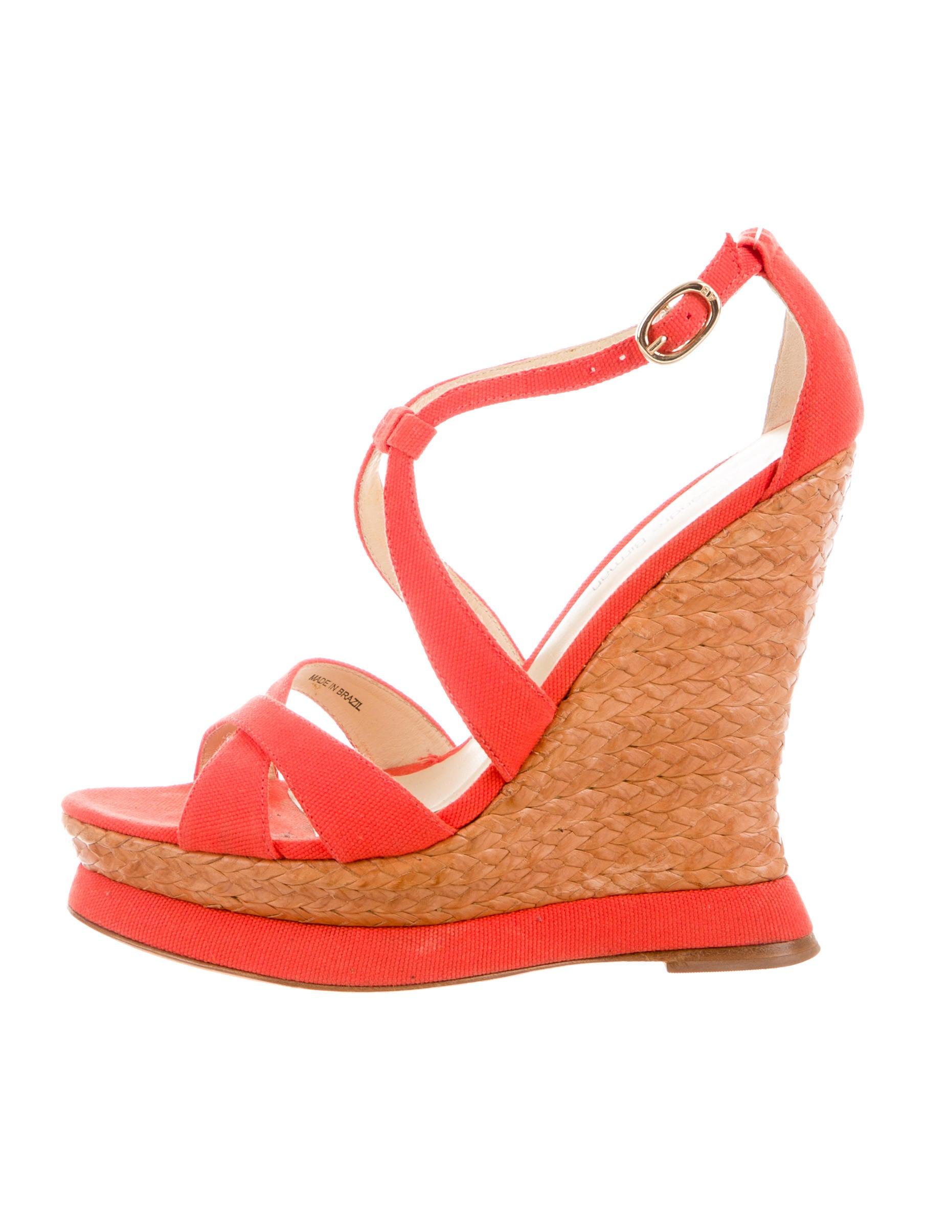 alexandre birman canvas wedge sandals shoes alr21184