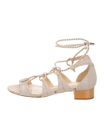 Alexandre Birman Olivia Lace-Up Sandals None