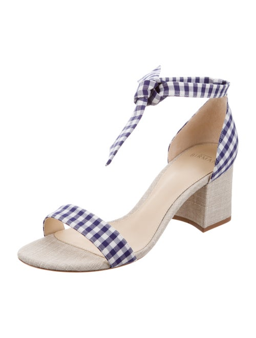 b95e2115249 Alexandre Birman Clarita Gingham Sandals w  Tags - Shoes - ALR21915 ...