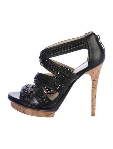 Alexandre Birman Leather Platforms Sandals None