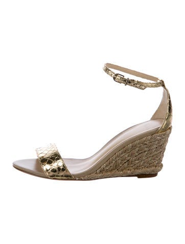 Alexandre Birman Elliot Python Wedges None