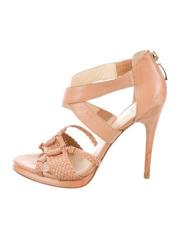 Alexandre Birman Braided Crossover Sandals None