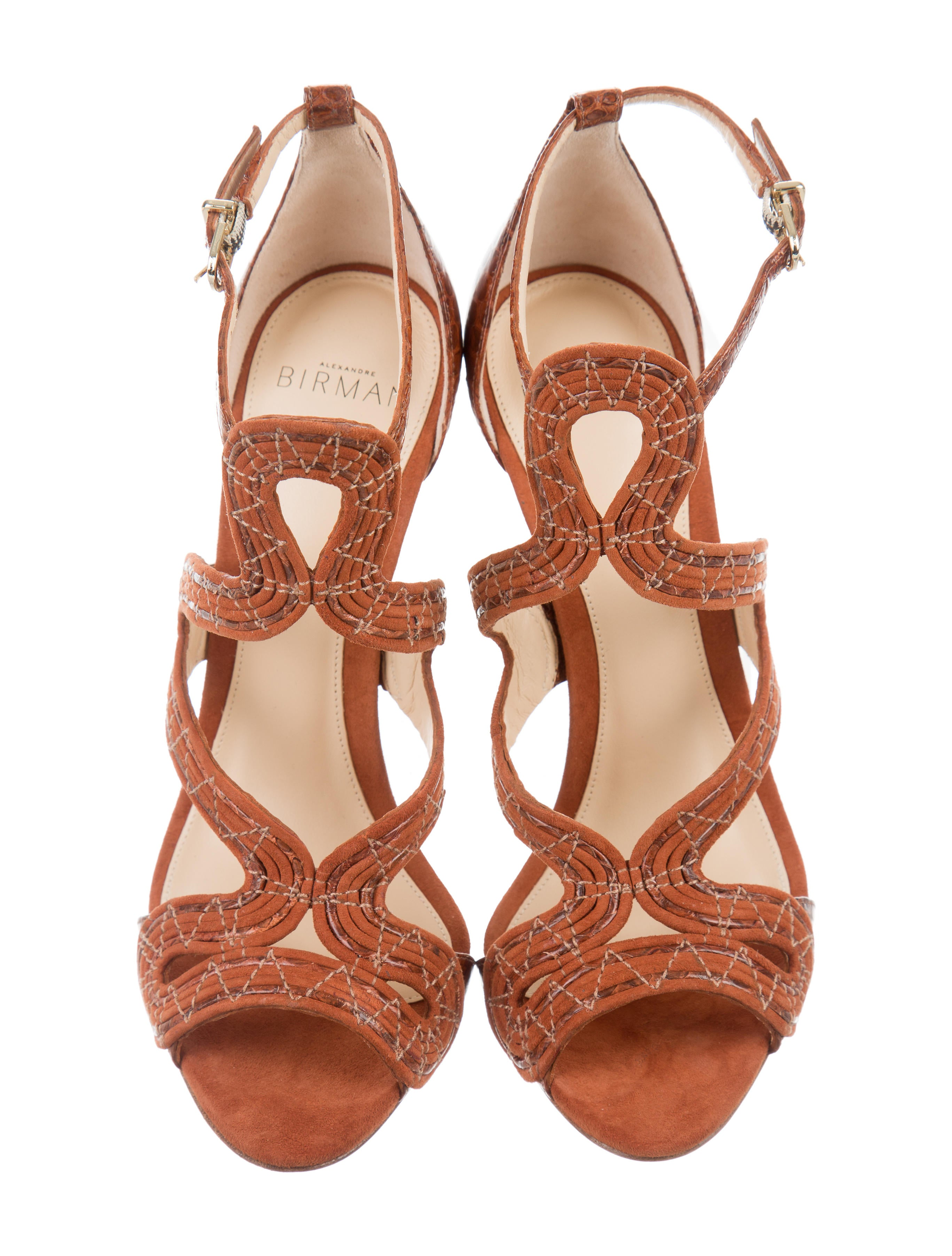 clearance 2014 new latest collections Alexandre Birman New Alice Suede Sandals w/ Tags for sale cheap online Ld6gjPRr3a
