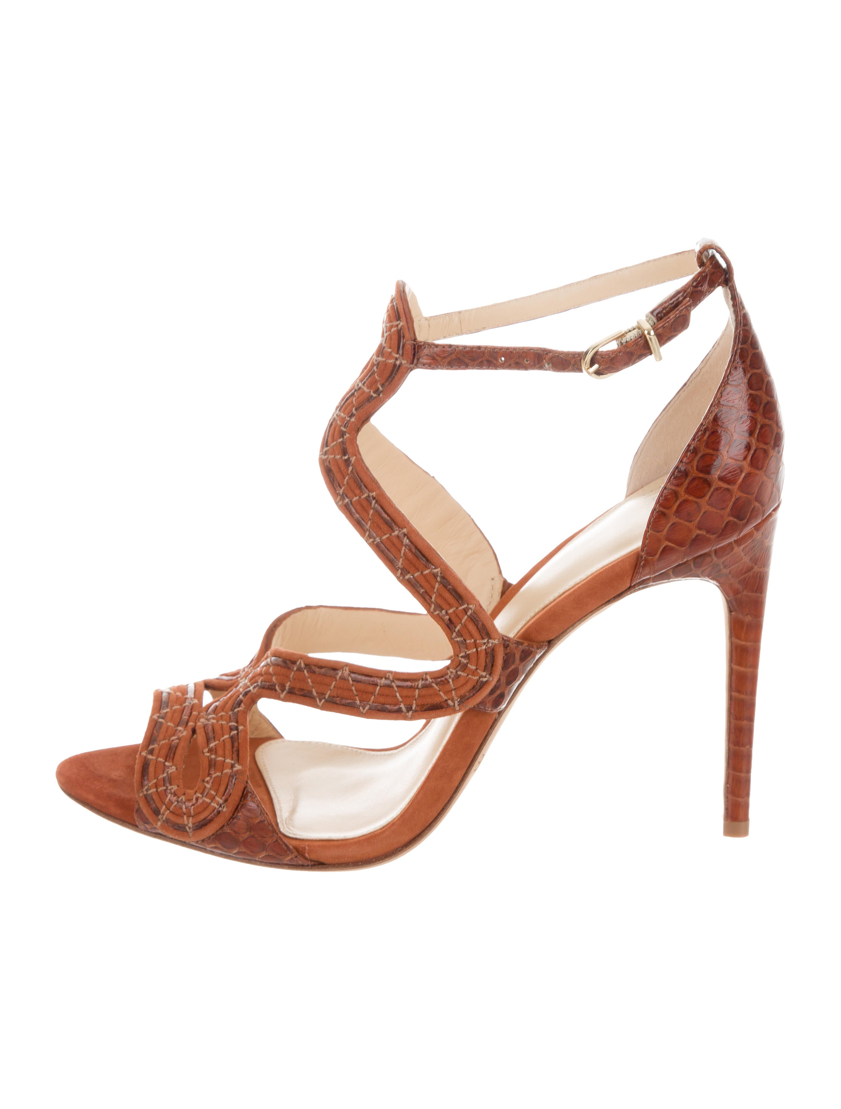 discount Alexandre Birman New Alice Suede Sandals w/ Tags buy cheap really tR8Tc8zv6