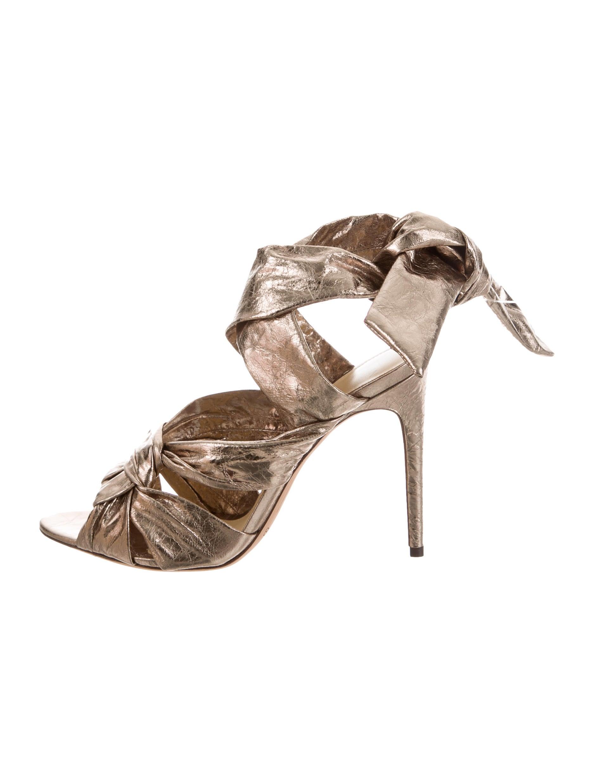 Alexandre Birman Maleah Metallic Sandals w/ Tags excellent sale online RF0LkssZ