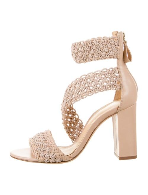 Alexandre Birman Leather Sandals Pink