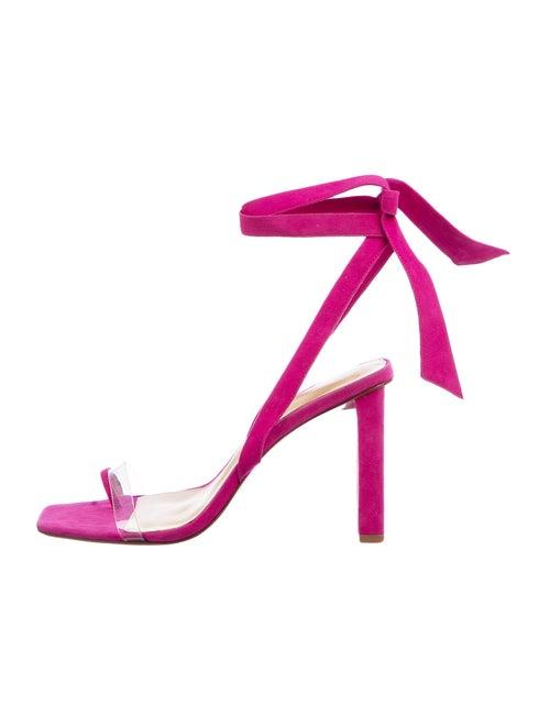Alexandre Birman Suede Sandals Pink