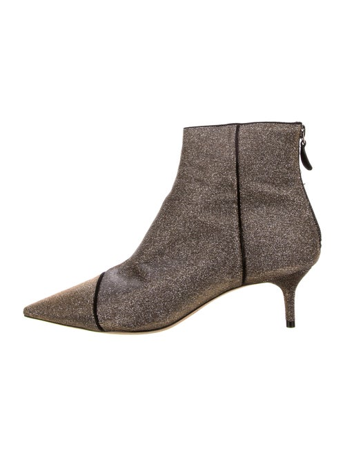 Alexandre Birman Leather Boots Gold