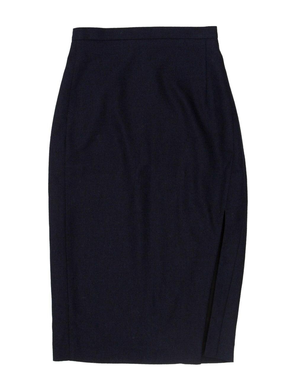 Altuzarra Midi Skirt Navy - image 1
